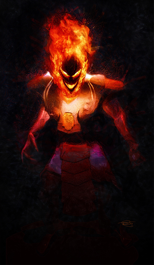 Dormammu Illustration by Daniel Murray