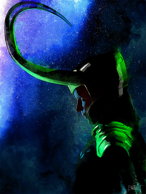 Loki Illustration by Daniel Murray