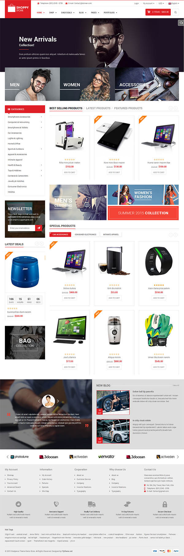 ShoppyStore - WooCommerce WordPress Theme