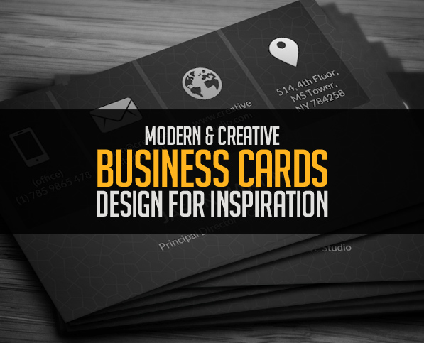 Modern business cards design 26 creative examples design modern business cards design 26 creative examples colourmoves