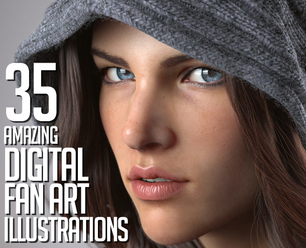 35 Awe-Inspiring Digital Art and Illustrations by Professional Designers