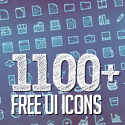Post Thumbnail of 1100+ Free UI Icons for Web, iOS and Android UX Design