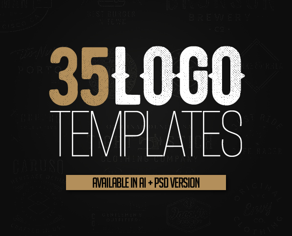 Logo Templates: 35 Custom Logo Design Templates