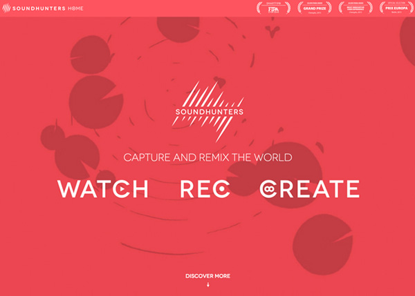 27 Fresh Interactive Web Design Examples - 13