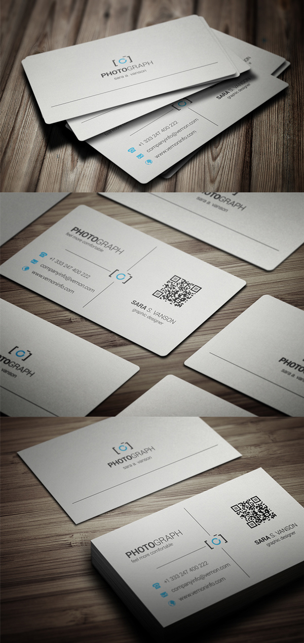 Photography Business Card Design #11