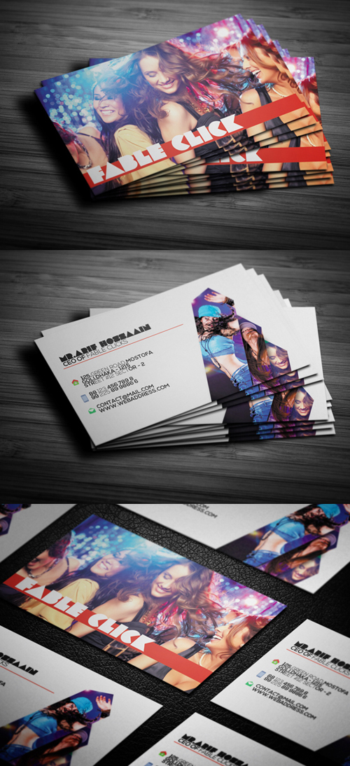 Photography Business Card Design #12
