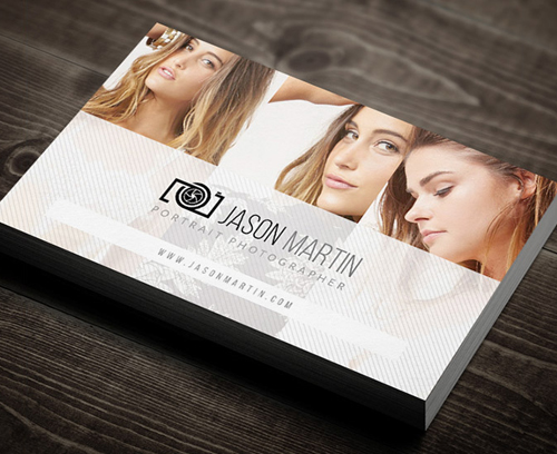 Photography Business Card Design 15