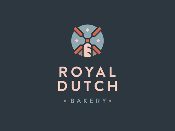 Royal Dutch Bakery Logo by Petr Knoll