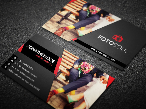 Photography business card templates design graphic design junction photography business card design 18 accmission