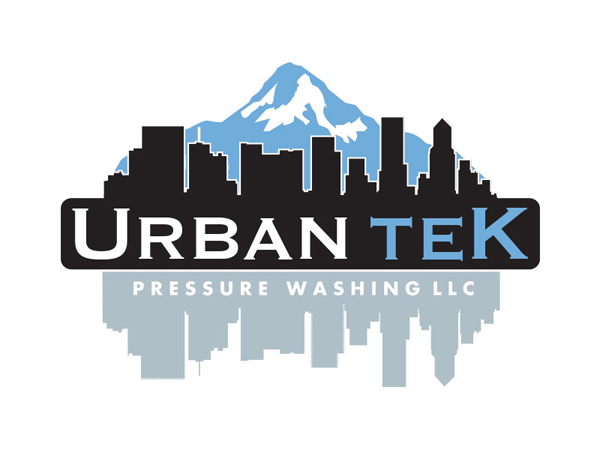 Urbantek Pressure Washing Logo by Mark Boehly