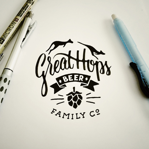 Brush Pen Calligraphy handwriting lettering