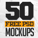 50 Best Free PSD Mockup Templates Design
