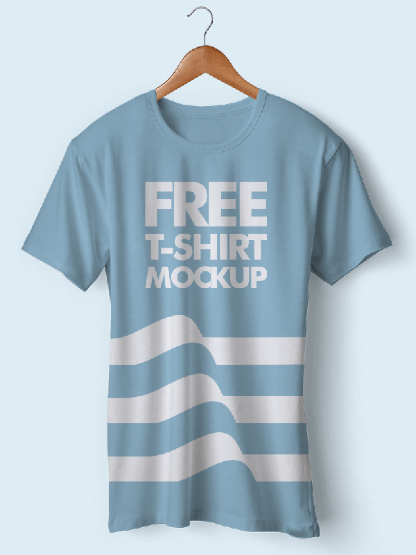 New T-Shirt Mockup PSD