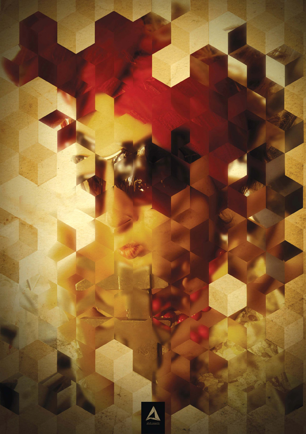 Turn a Portrait Photo into an Intriguing, Abstract Mosaic of Cubes Photoshop Tutorial