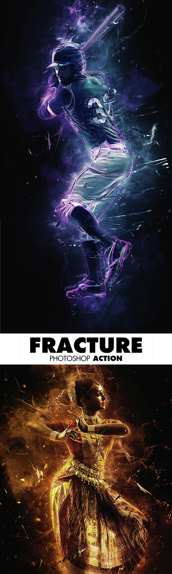 Fracture Photoshop Action