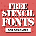 Post thumbnail of 16 Best Free Stencil Fonts for Designers