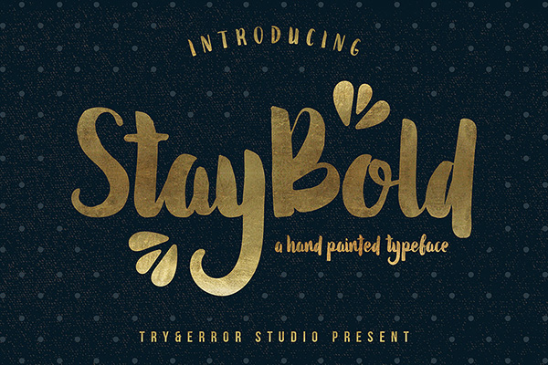 Stay Bold Font