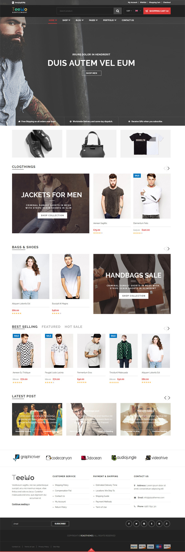 Teemo - Responsive WooCommerce WordPress Theme