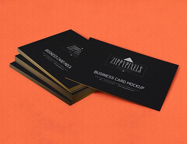 Free Business Card PSD Design
