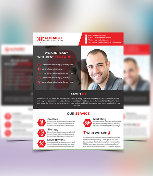 New photoshop free psd files for 2016 freebies graphic design free corporate business flyer psd template flashek Images