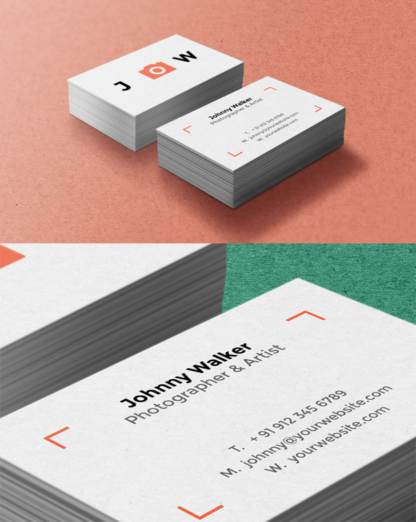 Free Business Cards Mockup PSD