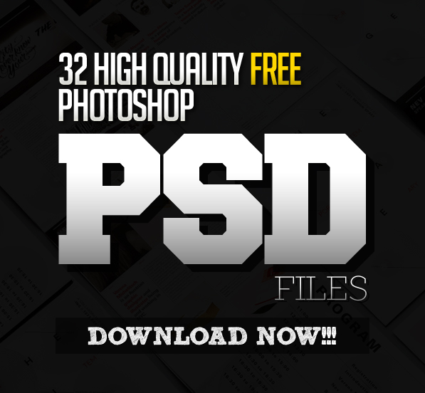 New photoshop free psd files for 2016 | freebies | graphic design.