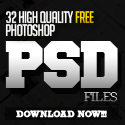Post Thumbnail of 32 New Photoshop Free PSD Files for Graphic Designers