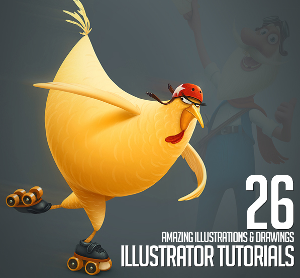 26 Amazing Illustration and Drawing Illustrator Tutorials