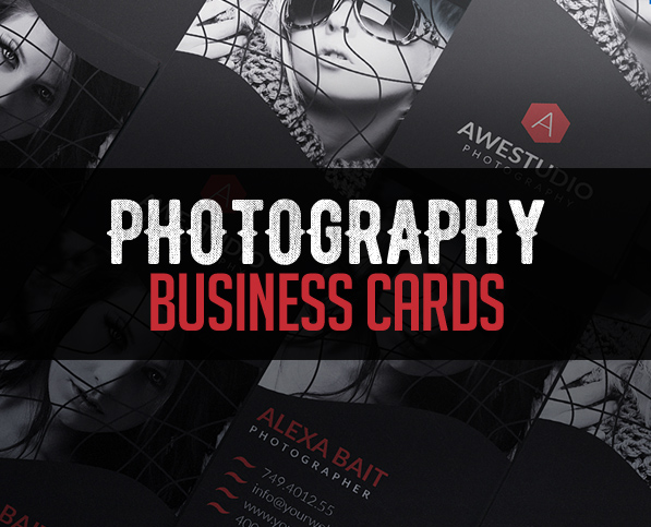 Photography business card templates design graphic design junction modern photography business card psd templates accmission