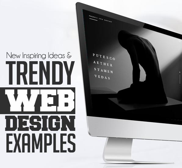 27 new trendy web design examples - Web Design Ideas