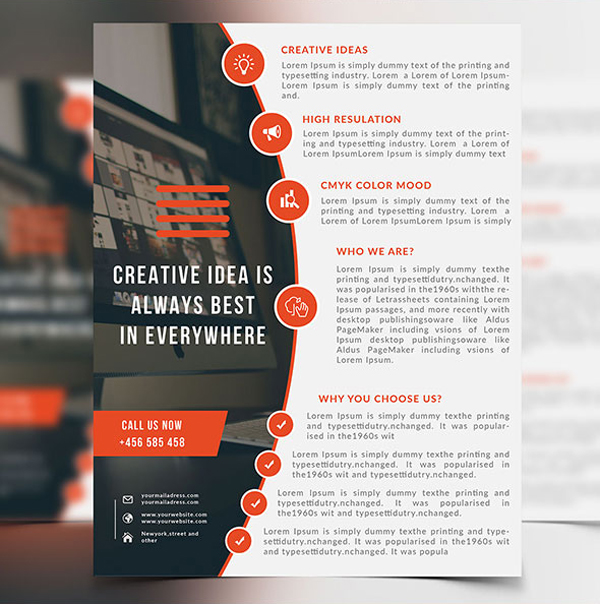 Professional Corporate Flyer Templates Design Graphic Design - Professional flyer templates