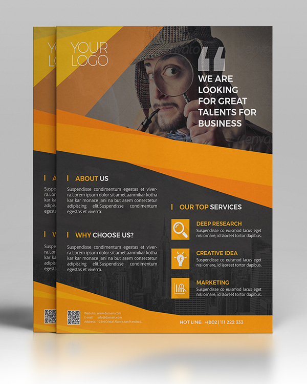 25 professional corporate flyer templates design graphic design corporate business flyer template wajeb Gallery