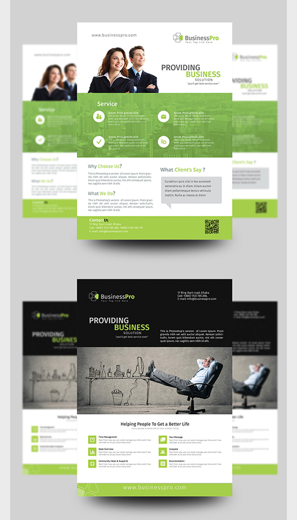 creative flyers templates