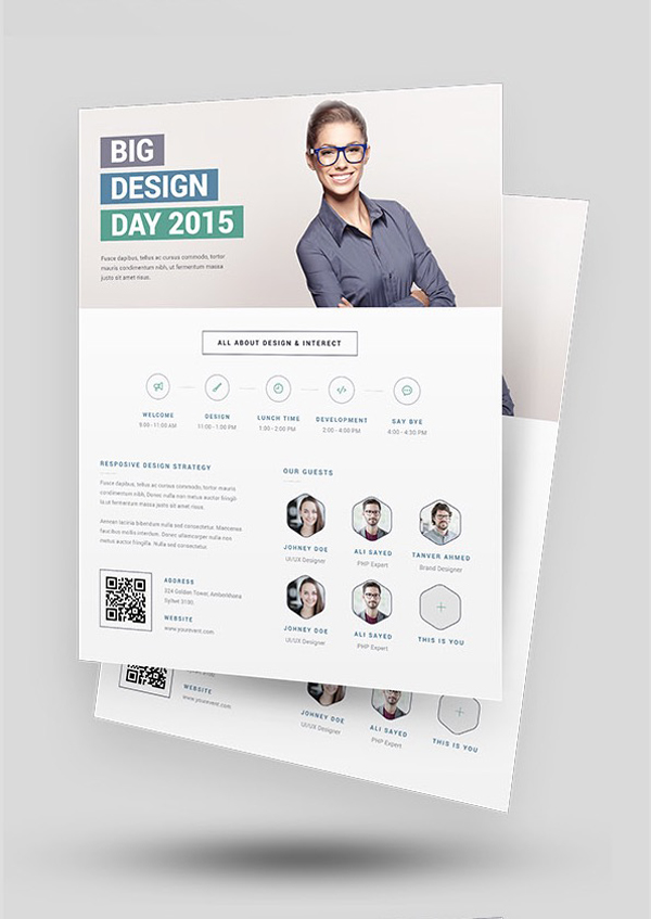 25 professional corporate flyer templates design graphic design