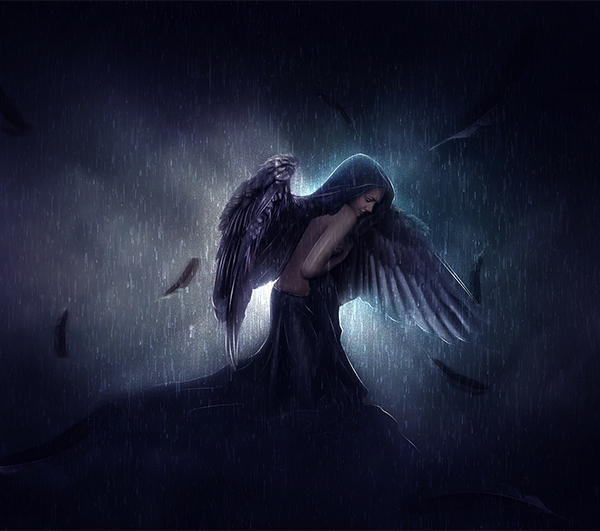 Create An Emotional Photo Manipulation Of A Sad Angel In Photoshop