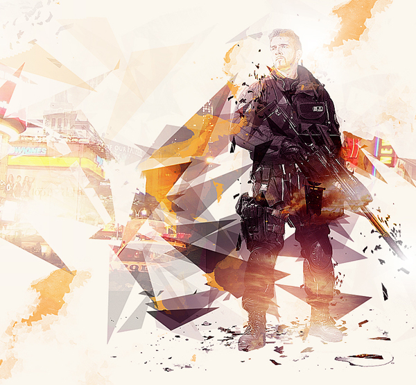 Create Photo Manipulation Inspired By Quantum Break Game Box Art In Photoshop