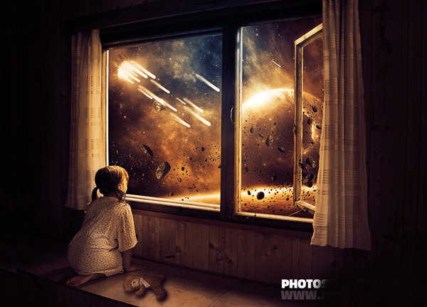 How to Create Childhood End The Last Days On Earth Photoshop Tutorial