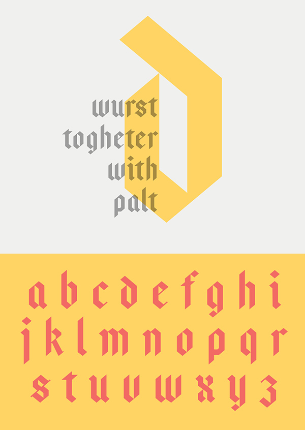 Bajern Free Hipster Fonts and Letters