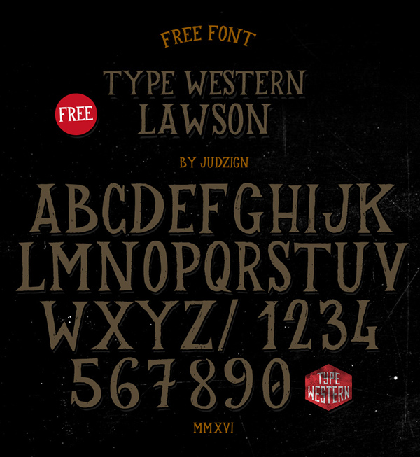 Lawson Free Hipster Fonts