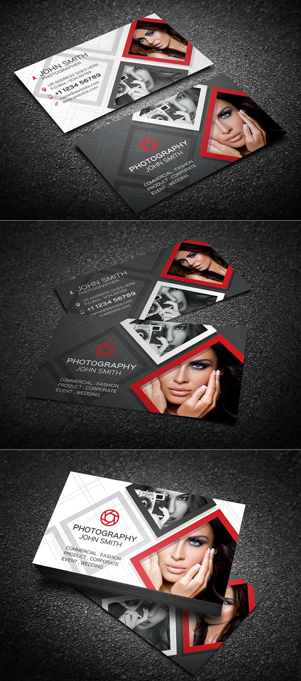 Creative Photography Business Card
