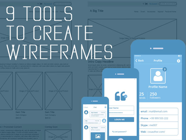 Wireframing Tools