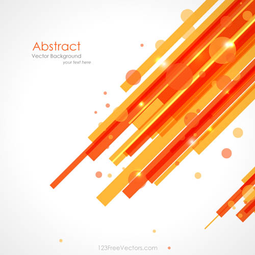 Free Orange Yellow Lines Background Vector