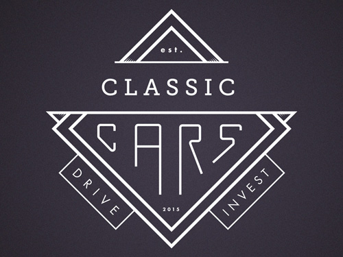 Classic Cars logo rebound by Tinus