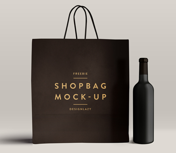 Shopping Bag Mockup PSD