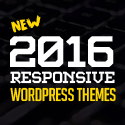 16 New Responsive News, Magazine, Blog & Personal WordPress Themes