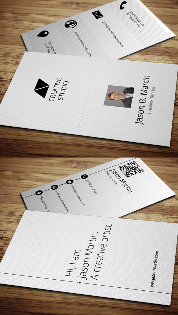 Metro Business Cards Design