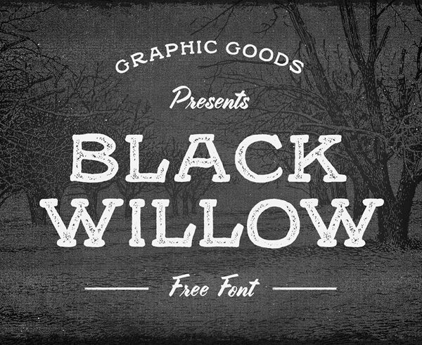 Black Willow Free Hipster Fonts