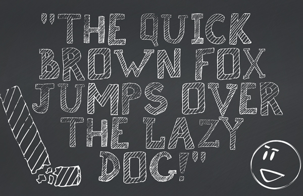 Broken Chalk Free Hipster Fonts and Letters