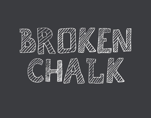 Broken Chalk Free Hipster Fonts