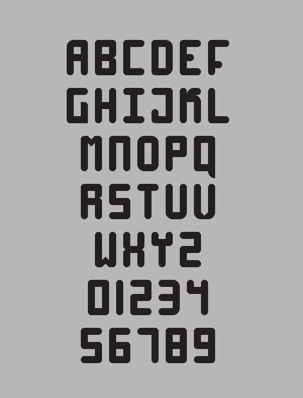 High 4 Free Hipster Fonts and Letters